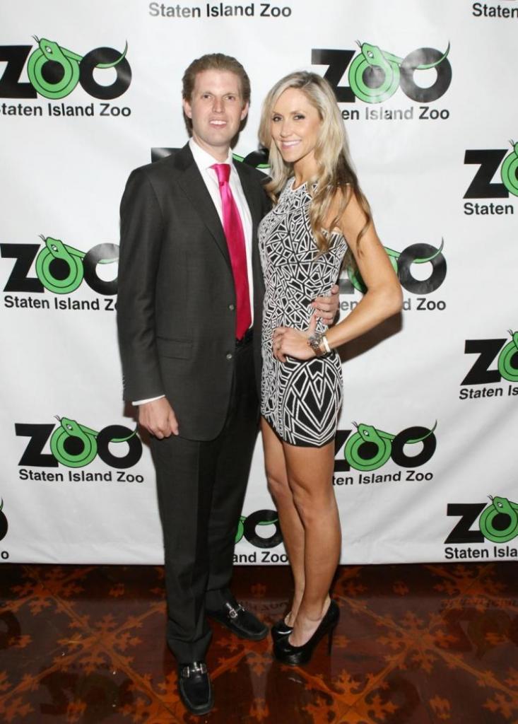 Eric Trump Marries Lara Yunaska In Palm Beach Wedding - NY Daily News