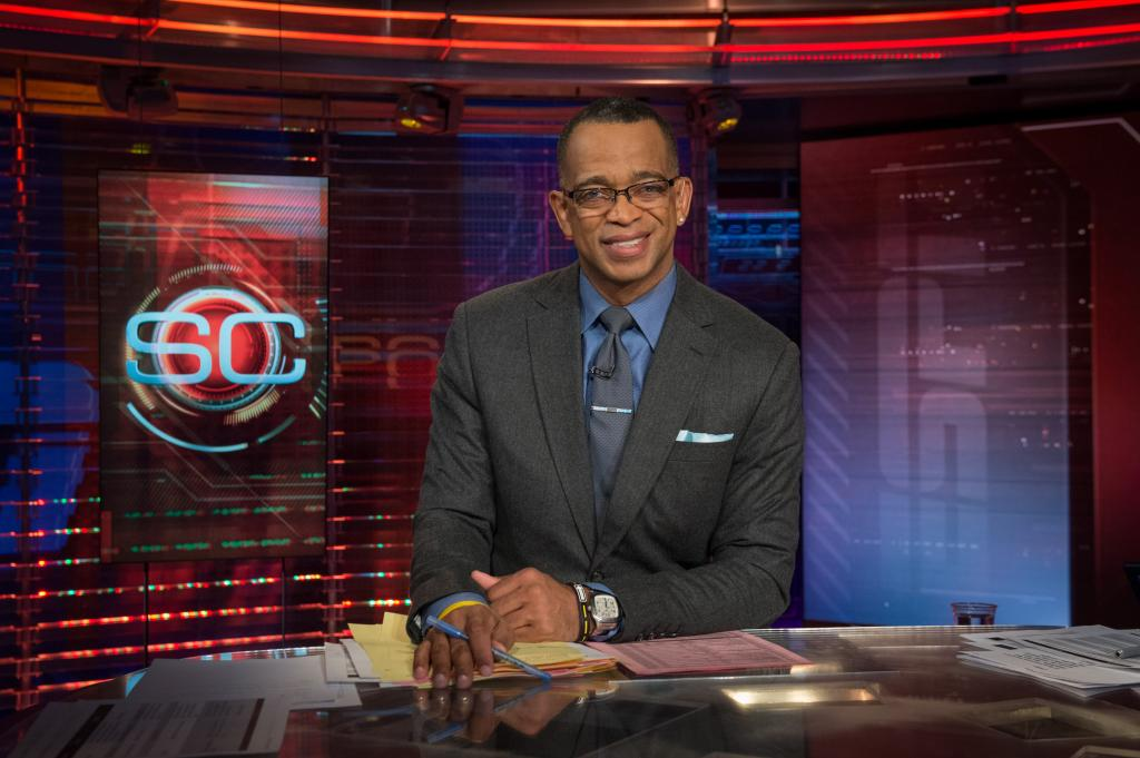 ESPN SportsCenter Anchor And Dedicated Family Man Stuart Scott Has
