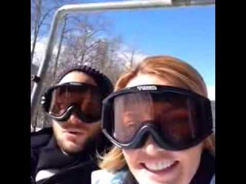 Esquiando Gabriel Coronel Y Karina Rosenfeld - YouTube