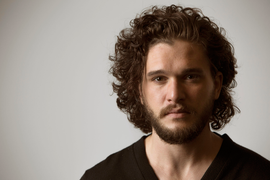 Everyone Shut Up About Kit Harington's Non-existent Haircut