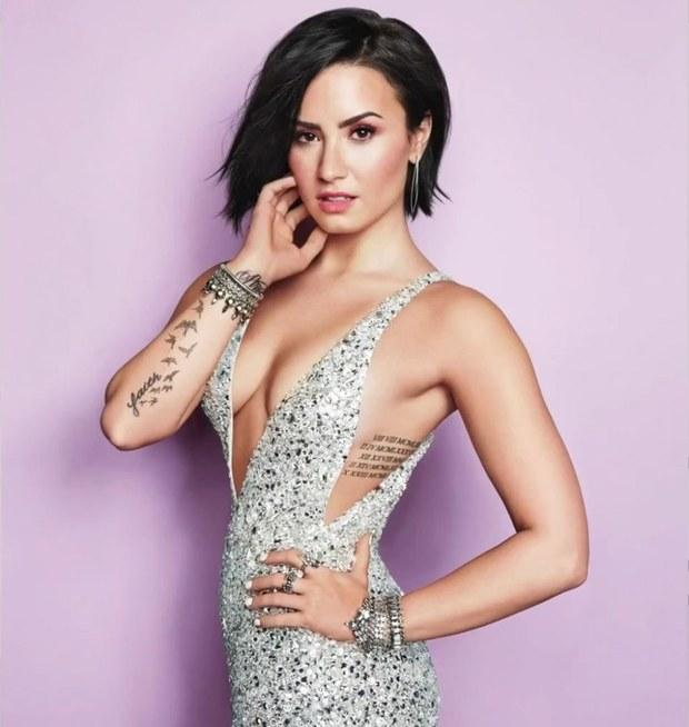 "Fans Find 15-Second Previews Of Demi Lovato's New Songs ""Stone Cold"