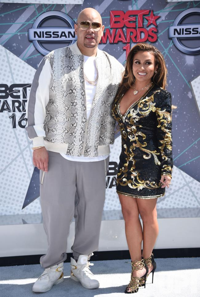 Fat Joe And Lorena Cartagena Attend The BET Awards In Los Angeles