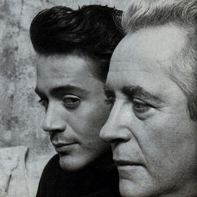 FATHER & SON Robert Downey Jr & Sr Together At The