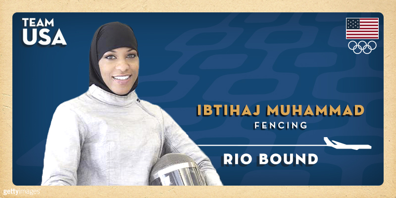 Fencer Ibtihaj Muhammad Qualifies For Olympics Will Become First US