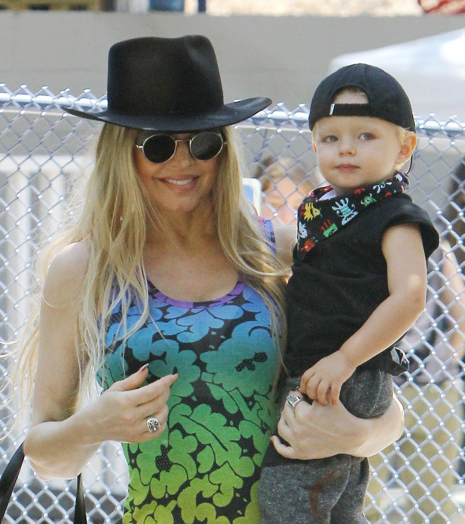 Fergie Pays Tribute To Her Son Axl Jack With 'Top Gun'-Themed Second