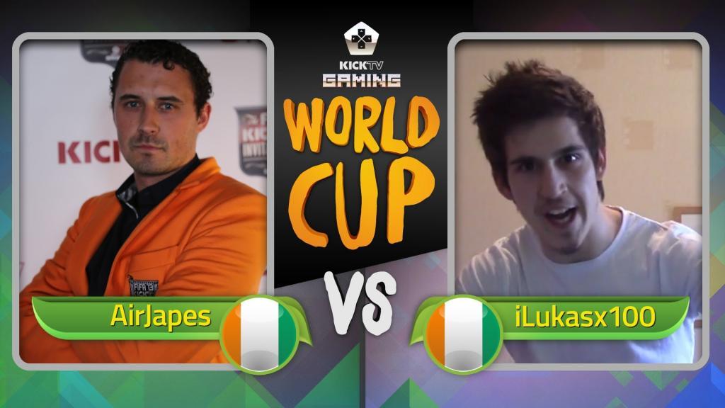 FIFA 14   AIRJAPES VS ILUKASX100   KICKTV GAMING WORLD CUP - YouTube