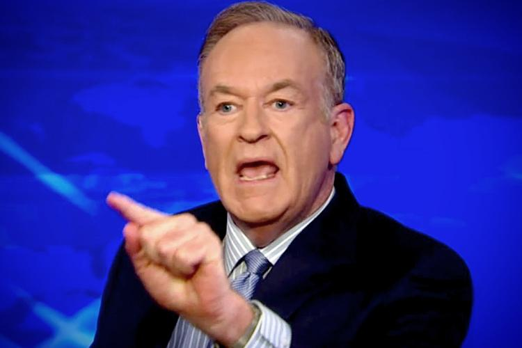 Fox News Anchor Bill O'Reilly Reportedly Abused His Wife In Front Of