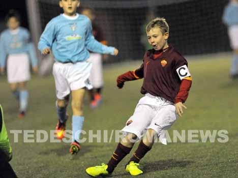 Francesco Totti's Son Cristian (9) Captains Roma's Kids In His 1st