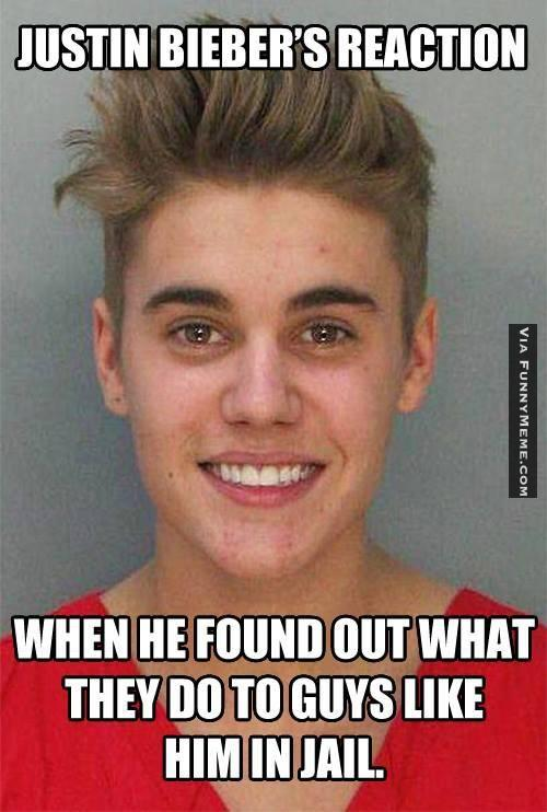 Funny Memes Justin Bieber's Reaction When He Found Out What They