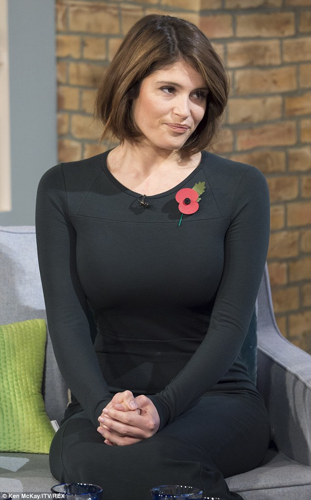 Gemma Arterton Show Slender Frame As She Promotes Made In Dagenham