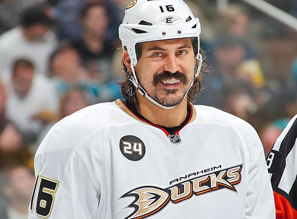 GEORGE PARROS RETIRES FROM NHL AFTER NINE SEASONS