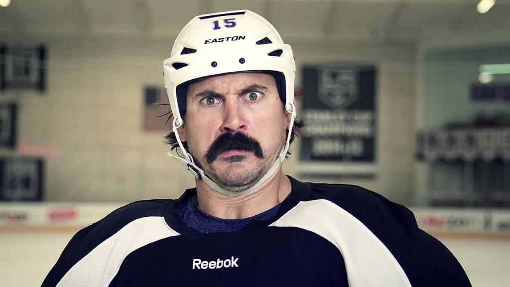 George Parros Vs Andy Williams Movember Battle - YouTube