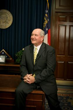 Georgia Governor Sonny Perdue - Biography