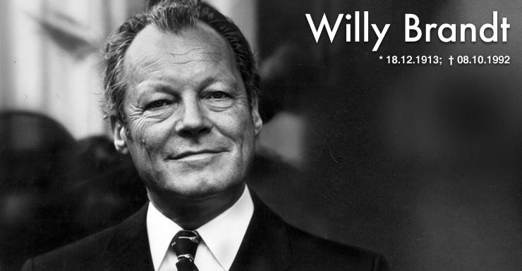Germany Celebrates Willy Brandt 100th Birthday: Who Was He