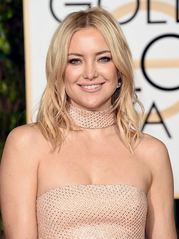 Golden Globes 2016: Kate Hudson Debuts A Brand New Lob