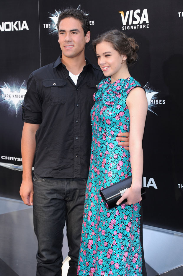 Griffin Steinfeld And Hailee Steinfeld - 'The Dark Knight Rises
