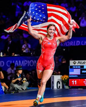 Helen Maroulis Named USA Wrestling Athlete Of The Week