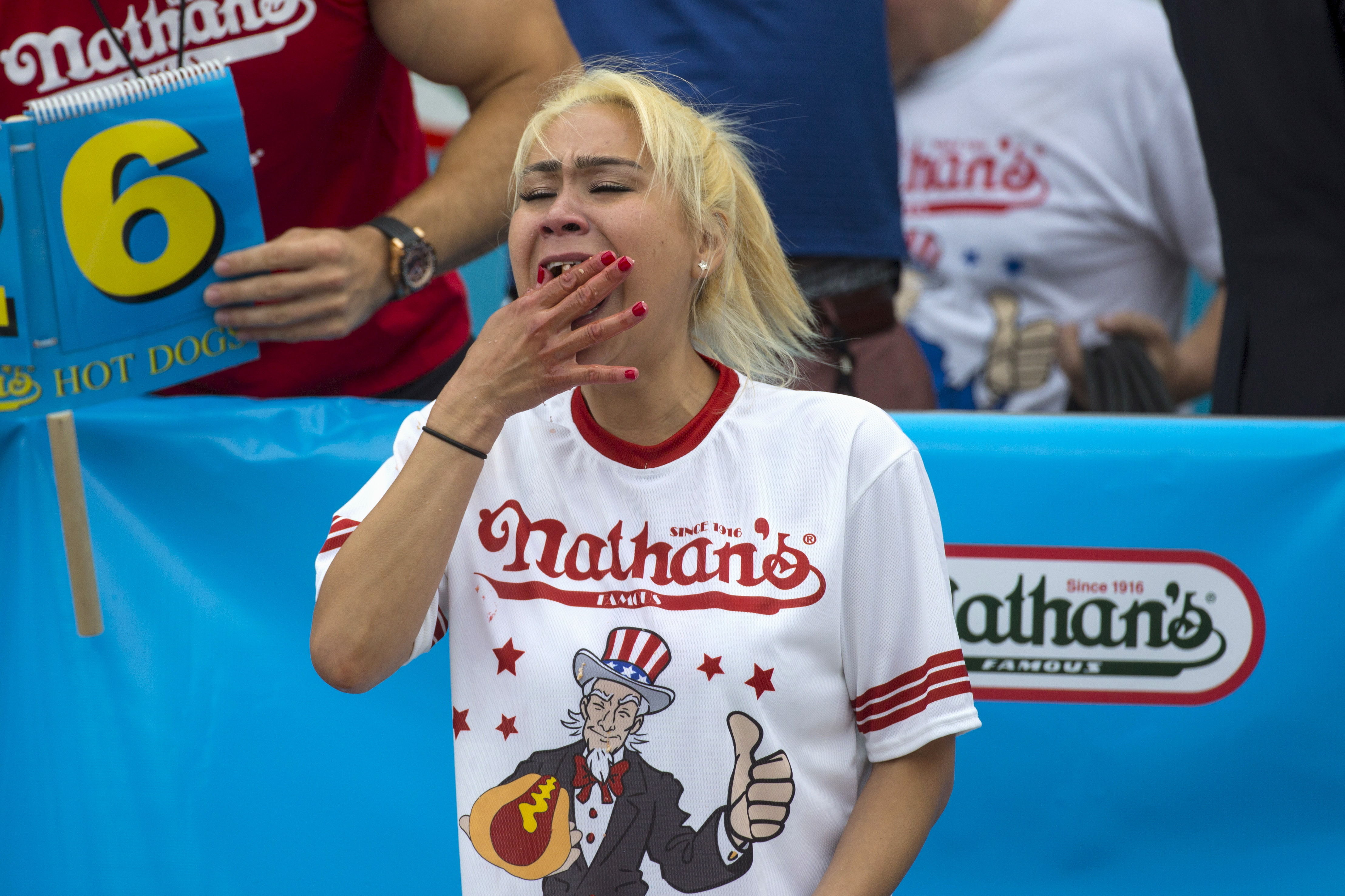 Hot Dog! Competitive Eaters Converge At Coney Island Contest   PBS