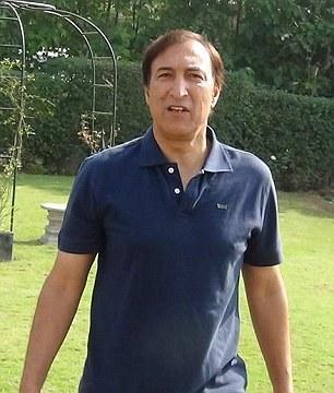 Reham Khan ex husband Ijaz Rehman photo