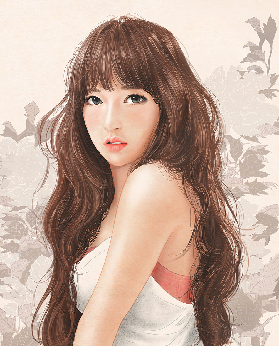 Illustration Of Cosmic Girls' Member Cheng Xiao Gains Explosive