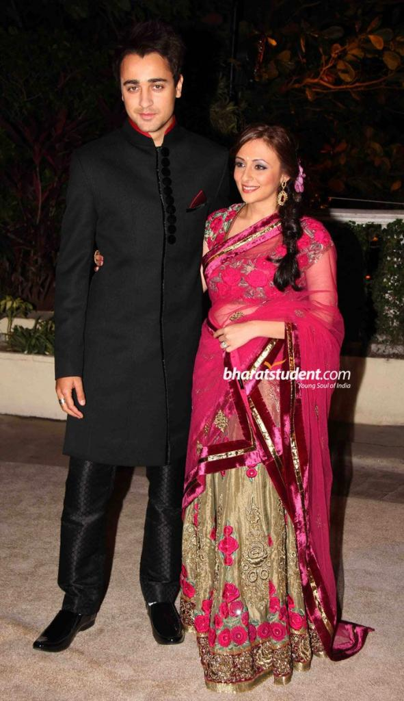 Imran Khan & Avantika Malik Wedding Reception Photo Gallery, Imran