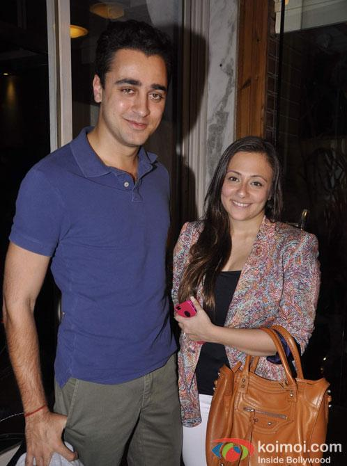 Imran Khan And Wife Avantika Malik Attend Vir Das' New Show Pic 1