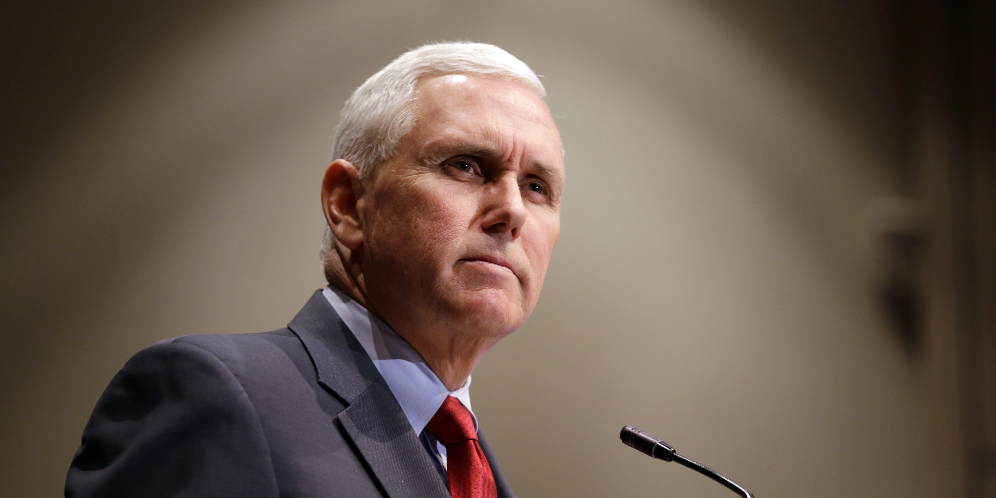 Indiana Gov. Mike Pence Seeks To Reassure Critics Of Controversial