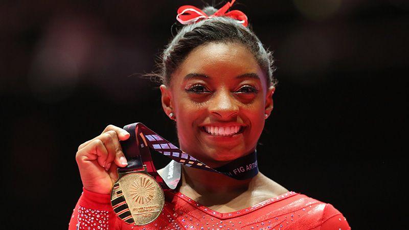 Italian Gymnast Sparks FURY With RACIST Jibe At BLACK Gymnast Simone
