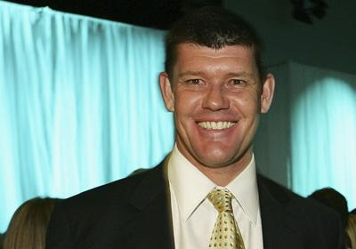 James Packer Media Man Australia