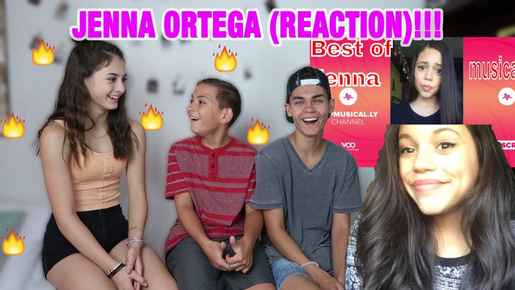 JENNA ORTEGA'S FIRST AND LAST 10 MUSICAL.LY (REACTION)!!! - YouTube