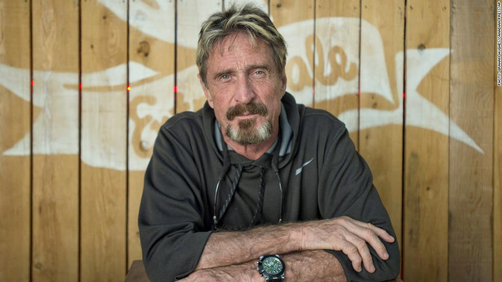 John McAfee Escaped Police And Lost His Fortune. Now He's Enjoying