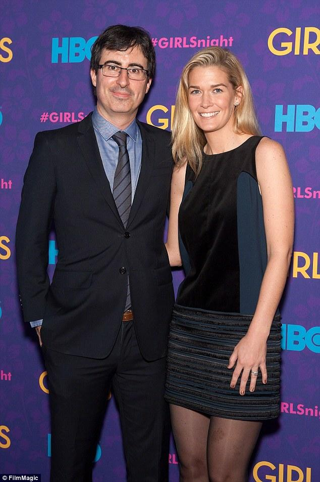 John Oliver Welcomes A 'happy And Healthy' Son With Wife Kate Norley