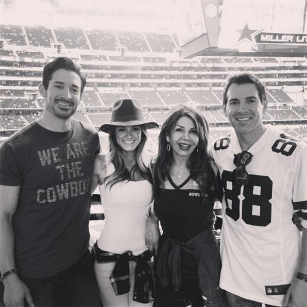 Jojo Fletcher Loves The Dallas Cowboys - The Bachelor - All About