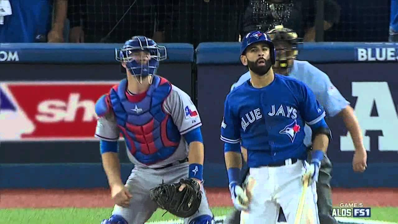 Jose Bautista Epic 3 Run Home Run In The 7th Inning. Game #5 ALDS