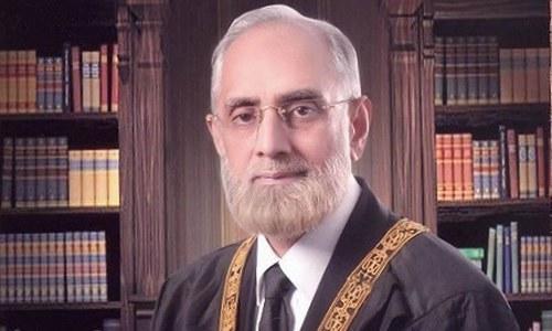 Justice Anwar Zaheer Jamali Sworn In As Country's Top Judge