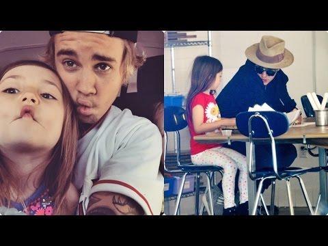 Justin Bieber And Jazmyn Bieber - Sweet Moments - YouTube