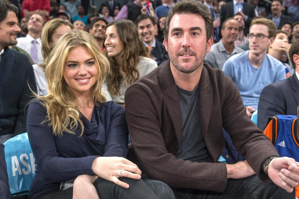 Kate Upton And Justin Verlander Photos - Hot Sports WAGs