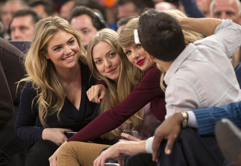 Kate Upton, Justin Verlander And Friends Take In A New York Knicks