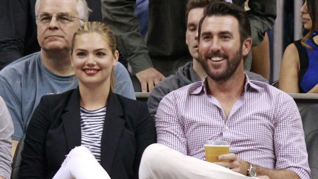 Kate Upton Proudly Announces Engagement To Justin Verlander At Met
