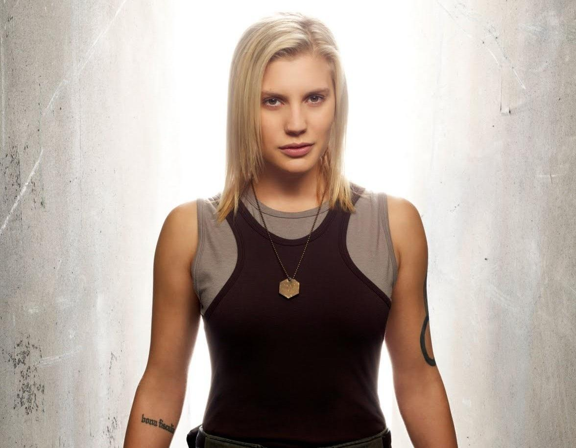 Katee Sackhoff On Playing Battlestar's Starbuck  And