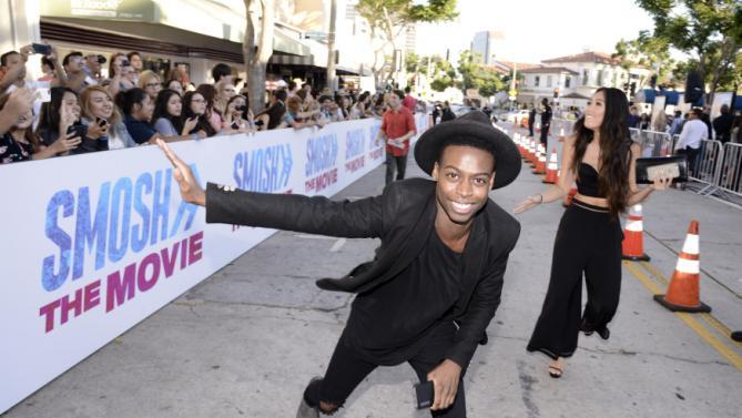 Keith Leak Jr. Seen At The Los Angeles Premiere Of AwesomenessTV