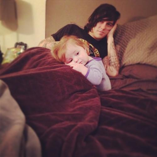 Kellin Quinn And His Adorable Daughter   We Heart It   Kellin