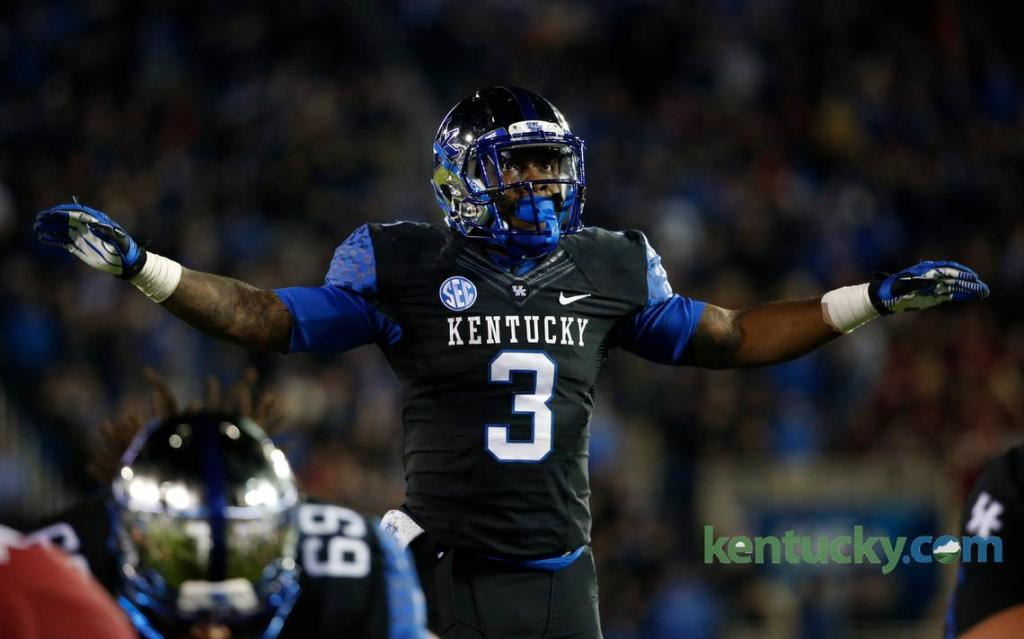 Kentucky's Kemp Working To Return To Top Of Running Back Depth Chart
