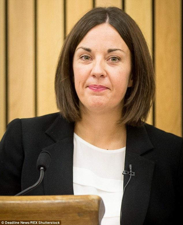 Kezia Dugdale Is Scotland's New Labour Party Leader   Daily Mail Online