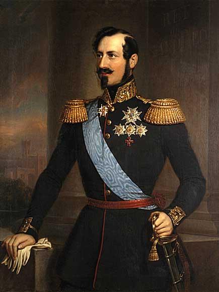 Kongehuset.no - King Oscar I (1799-1859)