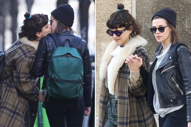 Kristen Stewart Kisses Soko On Paris   Celebuzz