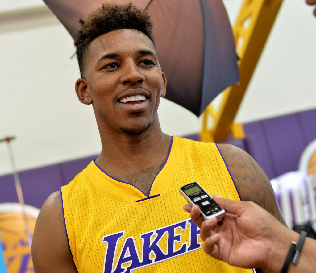 Lakers' Nick Young Vows To Have A Turnaround Season   Inside The Lakers