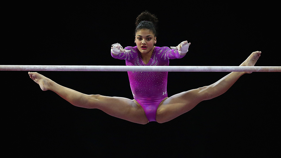 Laurie Hernandez Makes Olympics Gymnastics Team 2016 (Video