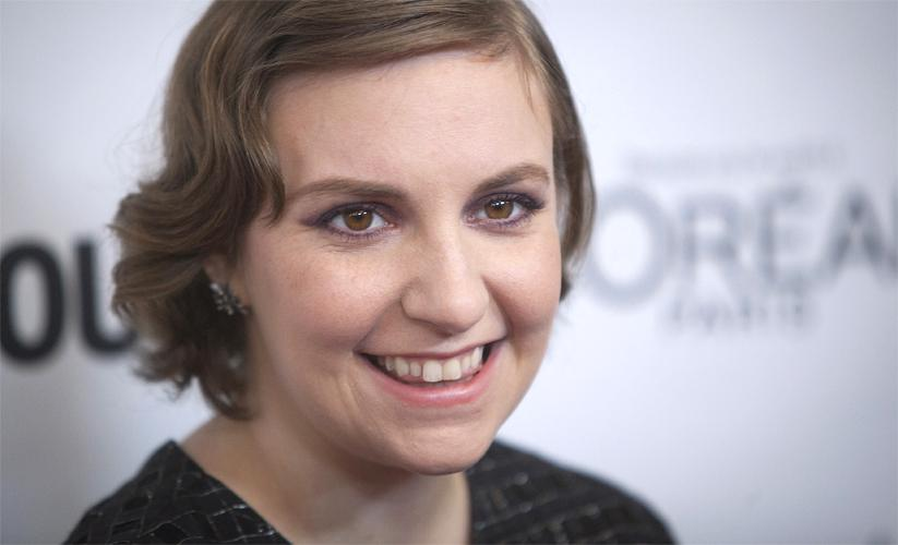 Lena Dunham:    I Write Under Duress, Often In My Bed, Often At The