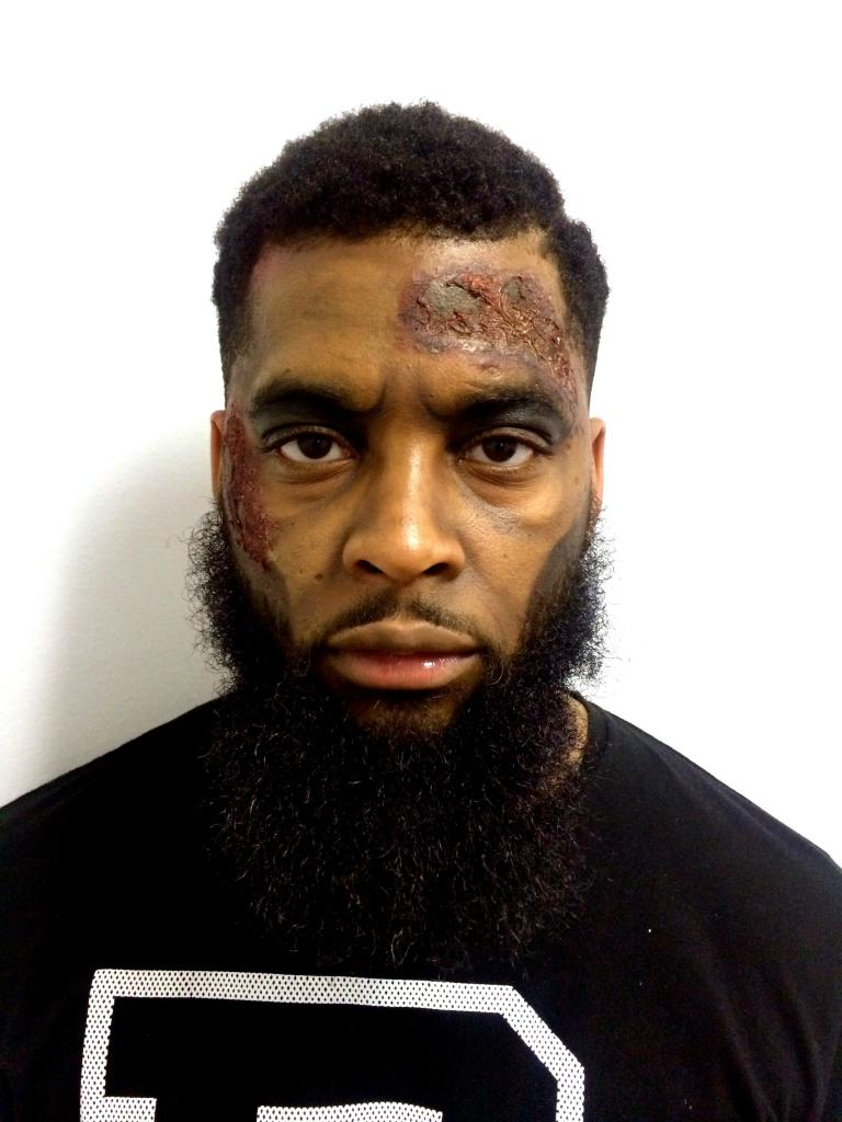 Let's Gogh Paint   Zombie Man - Keraun Harris
